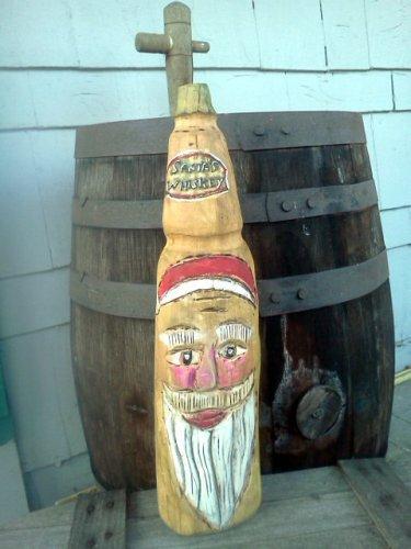 Santa's Whiskey Bottle