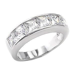 3.8 carat Princess cut stone sizes 5-6-7-8