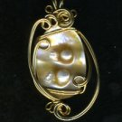 Blistered Pearl Pendant