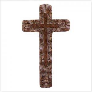 Classic Rustic Wall Cross - 30633