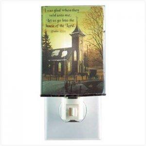 INSPIRATIONAL CHURCH NIGHT LIGHT - 11943