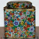 Daher Tin made in England lotsof little flowers covering the tin used and empty