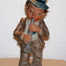 Made in Japan figurine marked Walls Clarinet player funny looking used