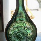 The Gray Fox, The Gentleman Soldier, Robert E. Lee, green iridescent bottle