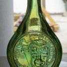 Crusades for Christ Rev. Billy Graham 1970? Wheaton bottle green