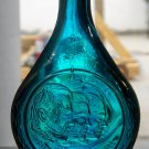 Wheaton Glass bottle Apollo 14 (blue iridescent?) 1971 Shepard-Roosa-Mitchell
