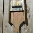 Tucker & Dorsey Slicer Grater wood and metal used