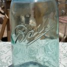 Ball and just Ball quart size possible a very light green color air bubbles