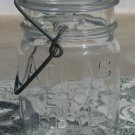 Atlas E-Z Seal Bail Wire no top clear glass pint canning or fruit jar
