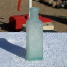 Dr. J.H. McLean's Volcanic Oil Liniment old bottle used and empty