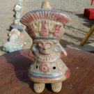 Clay whistle possible Aztec Mexican Inca Peru unknown maker as is