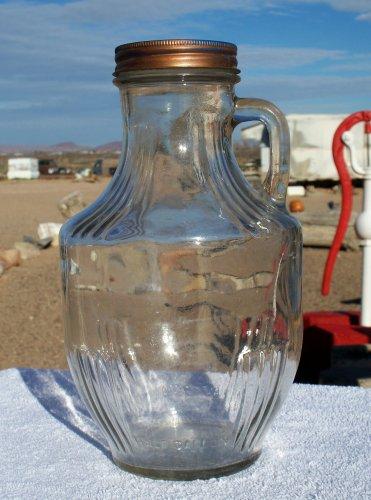 Speas & Co U-Sav-It Pitcher half gallon glass jar used and empty