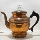 Buffalo Mfg. Co. Copper? or Brass 4 cupper coffee percolator used & empty