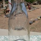 Plainfield Milk & Cream Co Inc clear quart milk bottle