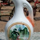 Porcelain made in China cruet or canister decorative mantle piece decanter?