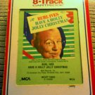 Vintage 70s Burl Ives Have A Holly Jolly Christmas 8-Track Tape in original packaging