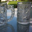 Vintage 1995 Batman Forever DC Comics McDonald's Batman & Robin Collectible Glass Mugs set of 2