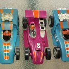 Vintage 1970 IDEAL Toy Slot Cars 70s Dragsters Racing Cars Lot Set of 3