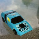 Vintage 70s Matchbox Superfast No VIII BLACK WIDOW 1972 Diecast Toy Car EX