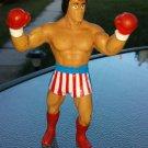 RARE Vintage 1985 ROCKY BALBOA SYLVESTER STALLONE Action Figure Figurine Eraser Winston Toys