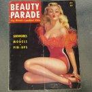 Vintage BEAUTY PARADE Pin-Up Girly Magazine The World's Loveliest Girls July 1945 DeVorss Cover