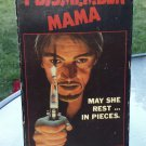I DISMEMBER MAMA Vintage VHS Video Tape Slasher Horror Gore Cult Classic!