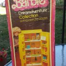 Vintage 1978 BARBIE Dream Furniture Collection Refrigerator Freezer w/ Box & Accessories MATTEL