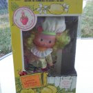 Vintage 80s Strawberry Shortcake's Friend Lemon Meringue Doll with Frappe Pet NIB KENNER 1982