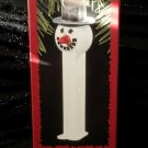 Vintage 1996 PEZ SNOWMAN Hallmark Keepsake Christmas Tree Ornament NIB
