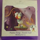 Vintage 1998 DONALD DUCK Practice Swing Hallmark Keepsake Christmas Ornament NIB