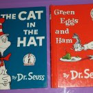 The Cat In The Hat and Green Eggs And Ham Dr Seuss Vintage Children's Books