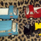 Vintage 60s 70s Miniature TONKA Diecast Trucks Lot of 4