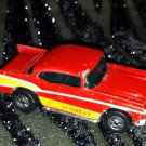 Vintage 70s HOT WHEELS Bright RED '57 Chevy 1976 Hong Kong Diecast Toy Car