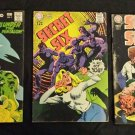 Vintage DC COMICS SECRET SIX Lot of 3 No 2 NO 5 NO 6 1968 1969 GREAT!