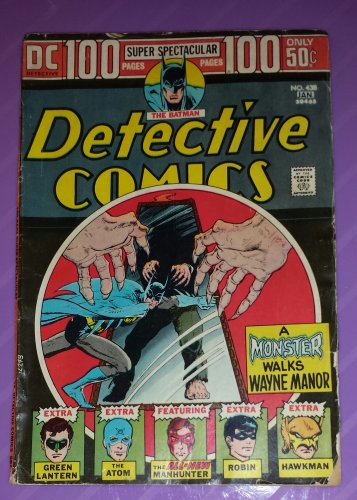 Vintage DC Detective Comics Super Spectacular 100 Pages Comic No 438 Dec/Jan 1973/1974 VG/GREAT!
