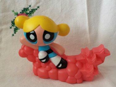 POWERPUFF GIRLS BUBBLES 2002 Collectible Burger King Kids Meal Toy Figure Cartoon Network