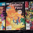Vintage MARVEL COMICS FANTASTIC FOUR Lot of 3 Vol 1 No 330, Vol 1 No 401 Vol 1 No 25 ~GREAT!
