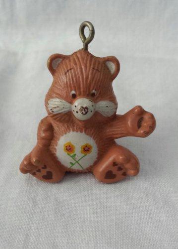 Vintage 80s CARE BEARS Miniature PVC Figure Pendant Charm Ornament