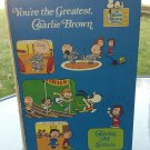 Vintage 70s You're The Greatest Charlie Brown Charles M Schultz 1979 Hardcover Children's Book