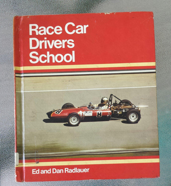race car driver 39 s school by ed and dan radlauer 1975 vintage juvenile book 70s race cars. Black Bedroom Furniture Sets. Home Design Ideas