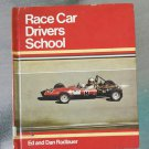 RACE CAR DRIVER'S SCHOOL by Ed and Dan Radlauer 1975 Vintage Juvenile Book 70s race cars