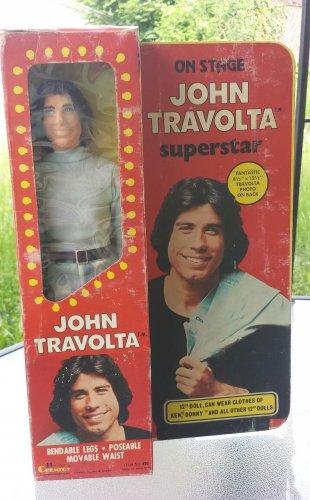 "Vintage 1977 John Travolta On Stage Superstar 12"" Doll Figure CHEMTOY NIB WOW!"