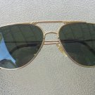 Vintage 1970s Mens Aviator Style Tinted Sunglasses