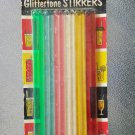 Vintage 60s Wecolite Glittertone Stirrers Cocktail Drink Stirrers Plastic Swizzle Sticks 12 NIP MINT