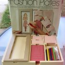 Vintage 1978 FASHION PLATES Fashion Design Toy by Tomy w/ Box GREAT!