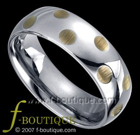 """Lust"" Hammered Style, Tungsten Carbide Wedding Band Ring Size 5.5, 6.5, 7.5, 8.5, 9.5. 10.5, 11.5"