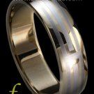 """Maestro"" TUNGSTEN CARBIDE wedding band ring size 4 5 6 7 8 9 10 11 (also every half size)"