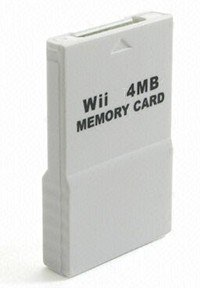 Wii 4MB Memory Card