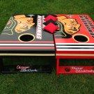 Chicago Blackhawks Custom Cornhole Boards corn hole baggo