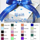 "Personalized Favor Ribbons - Plain - Width:3/8"" Length:12"" (Qty 25)"